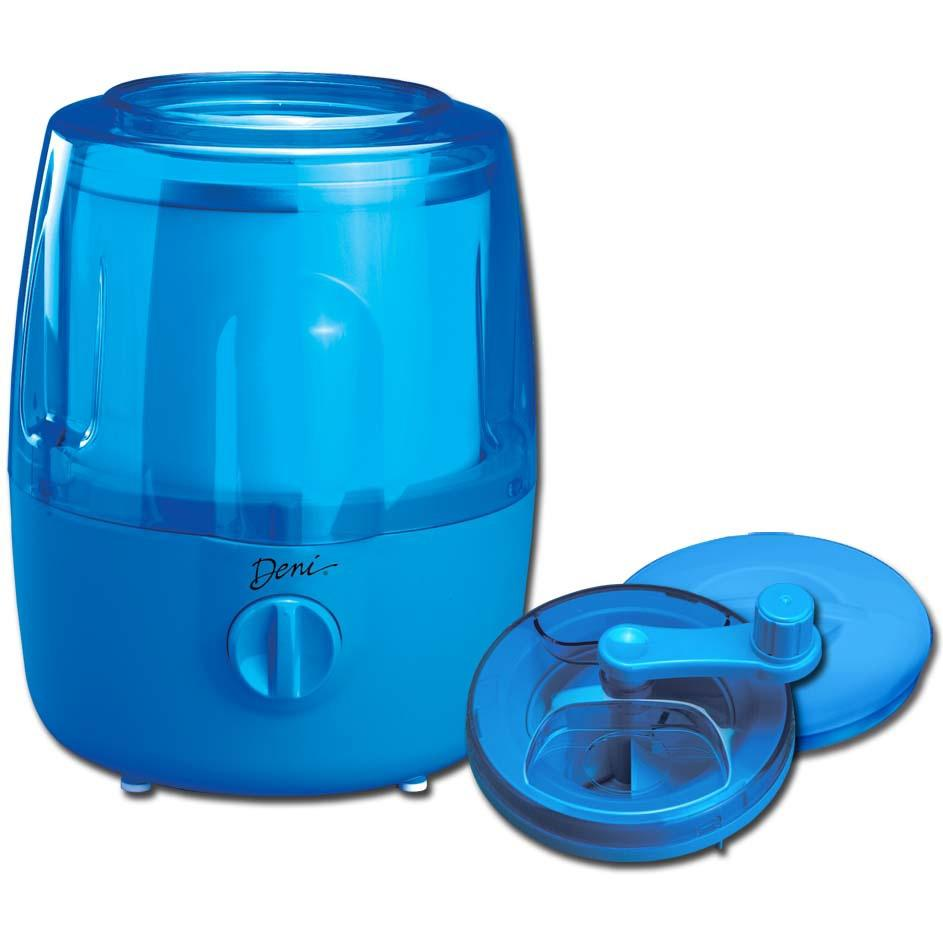 Deni Automatic Ice Cream Maker W/ Candy Crusher - Blueberry
