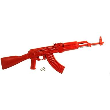 Asp Le Red Training Equipment, Ak47 Red Training Rifle (rubber)