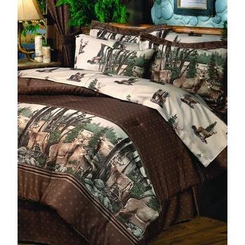 Blue Ridge Trading Whitetail Dreams Throw Pillow