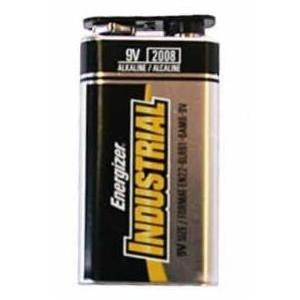 Eveready Energizer Batteries Industrial Alkaline Batteries - 9 Volt, 12 Pack
