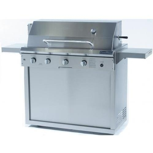 ProFire Performance Series 42 Inch Propane Gas Grill With Rotisserie - On Cart 2542126
