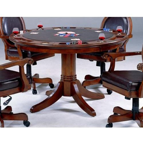 Hillsdale Warrington Game Table - Rich Cherry - 6125GTB