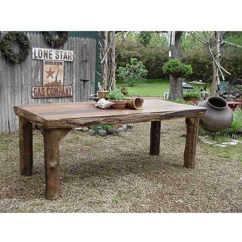 Picture of Groovy Stuff Ranch House Teak Wood Dinner Table - TF-320