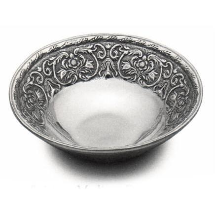Wilton Armetale William & Mary Medium Round Bowl