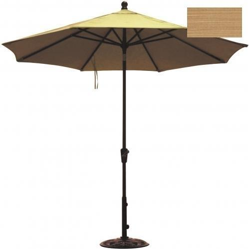 Windham Castings 11 Foot Umbrella , Dupione Bamboo L