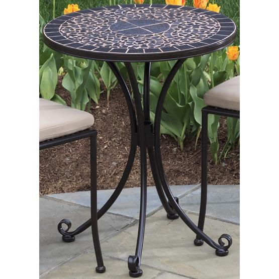 Alfresco Home Vulcano 24 Inch Round Bistro (Top & Base)