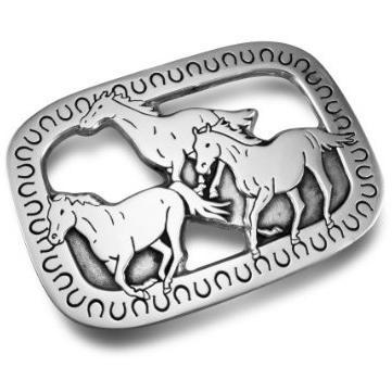 Wilton Armetale Horses Trivet /Polished/bx - 170081