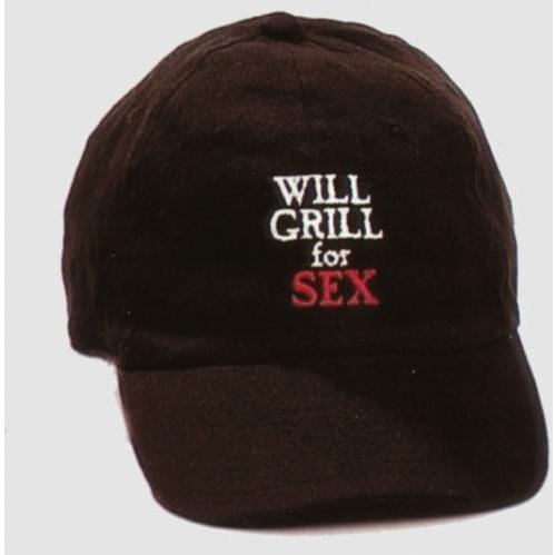 Will Grill For Sex Baseball Cap