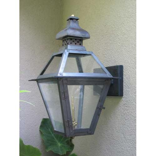 Regency GL20 Regenia Rue Natural Gas Light With Open Flame Burner And Manual Ignition For Post Mount
