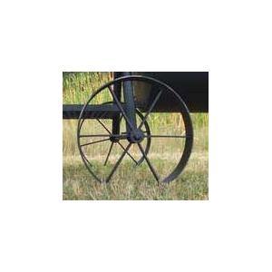 Horizon Smokers Replacement Steel Wagon Wheels For Marshal And Ranger Smoker Grills - 16 Inch Diameter