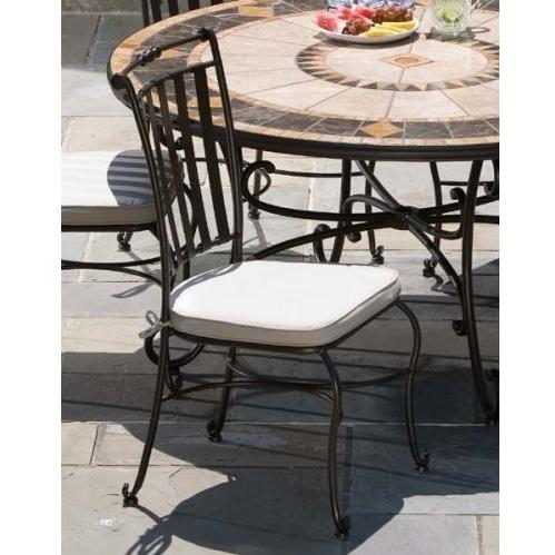 Alfresco Home Classico Outdoor Side Chair With Cushion - Set Of 2
