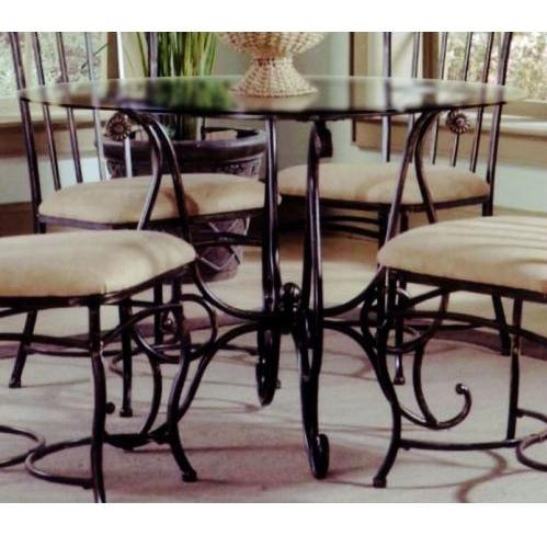 Hillsdale Camelot Ii Dining Table - Black Gold - 4356dtb