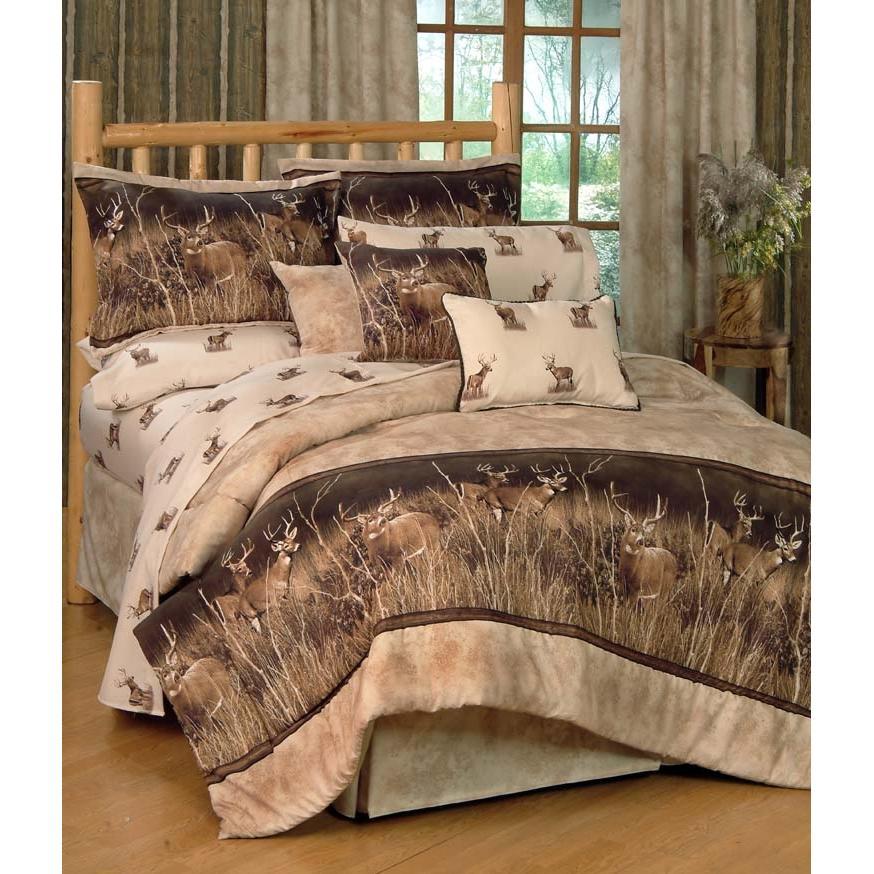 Blue Ridge Trading Deer Meadow Oblong Throw Pillow