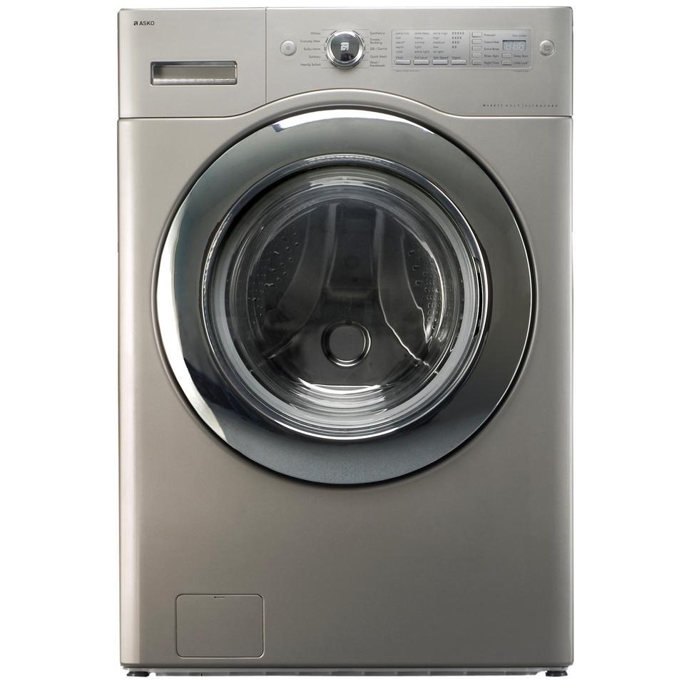 ASKO Washers UltraCare XXL Capacity Washer - Pure Platinum