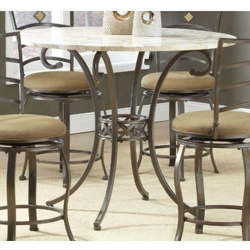 Hillsdale Brookside Counter Height Dining Table - Brown - 4815dtbg