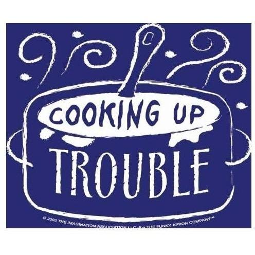 Cooking Up Trouble Apron - Child Size