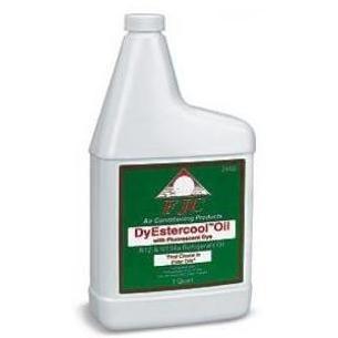 FJC DyEstercool A/C Refrigerant Oil UV Dye - 1 Quart