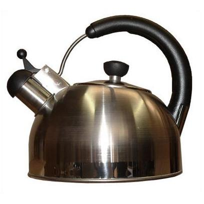 Picture of Oggi Stainless Whistling Kettle W/ Glass Dome