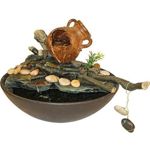 Alpine Broken Pot Italy Fountain