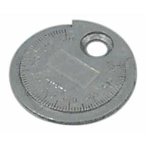 Lisle Spark Plug Gauge And Gapper - Coin-Type