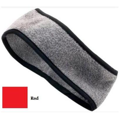 Augusta Chill Fleece Sport Headband Red
