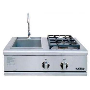DCS BFG30BSL Liberty Propane Gas Side Burner And Sink Built In