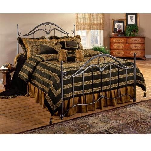Hillsdale Kendall Bronze Metal Bed Set Without Frame - Full - 1290-460
