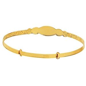 Elegant Baby Infant Gold Bangle Bracelet