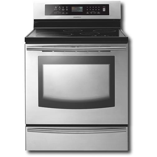 Samsung FTQ307NWGX 5.9 Cu Ft Electric Induction Range W/ Warming Drawer - Stainless Steel