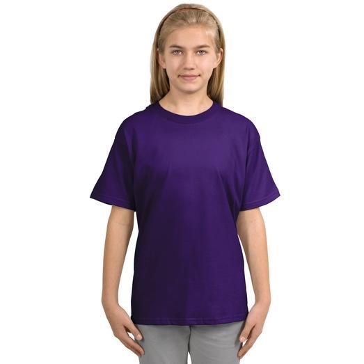 Gildan Youth Ultra Cotton T-Shirt Small - Purple