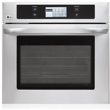 LG Ovens 4.7 Cu. Ft. 30 Inch Single Wall Oven, Stainless Steel - LWS3081ST