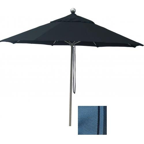 Casual Creations 11 Ft Aluminum Pewter Market Umbrella With Pewter Frame And B0949 Fabric