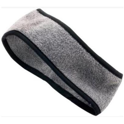 Augusta Chill Fleece Sport Headband Charcoal Heather
