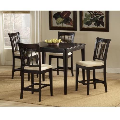Hillsdale Bayberry 5-piece Counter Height Dining Set - Dark Cherry - 4783dtbsg