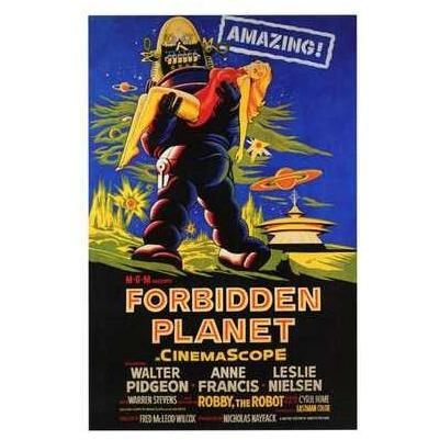Forbidden Planet Poster Print