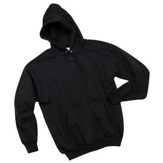 Hanes Comfortblend Hooded Pullover Sweatshirt Large - Black
