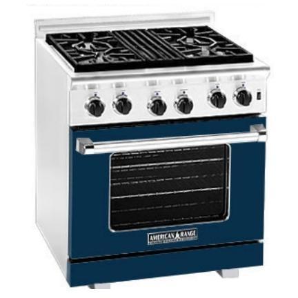 American Range Dark Blue Range Color Kit 30 Inch With Glass - COLOR KIT ONLY