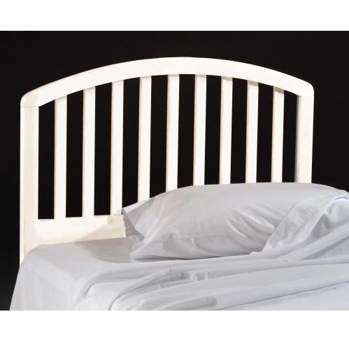 Hillsdale Carolina White Headboard Without Frame - Full/Queen - 1109-490
