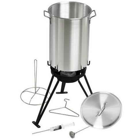 Eastman Outdoors 30 Qt Professional Outdoor Cooking Set With CSA Shut Off