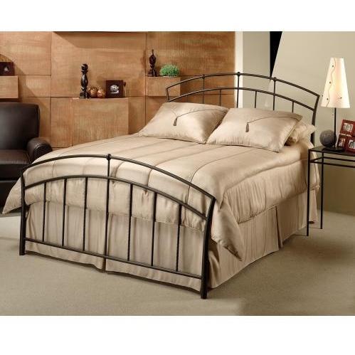 Hillsdale Vancouver Antique Brown Metal Bed Set Without Frame - King - 1024BK