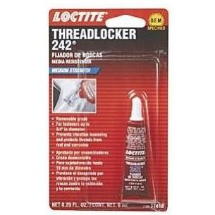 Loctite 242 Threadlocker Medium Strength - 6ml Tube