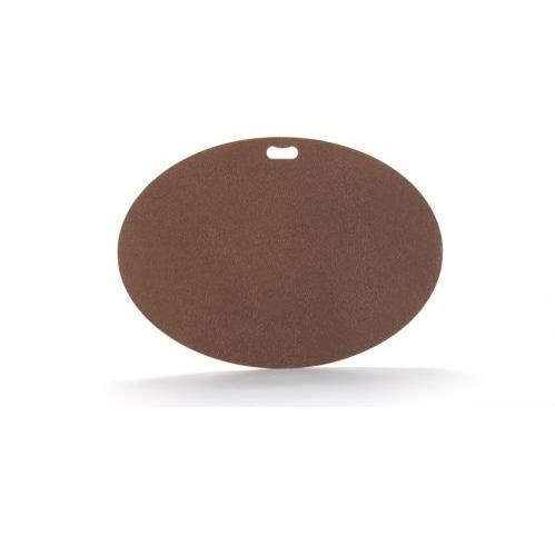 The Original Grill Pad - Oval, Earthtone Brown