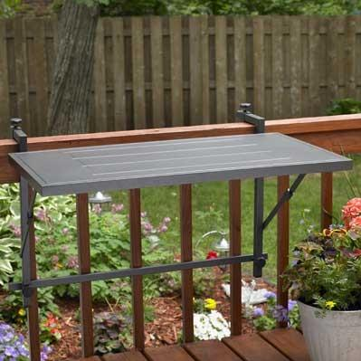 Outdoor GreatRoom Company Electric Grill Deck Rail Mount