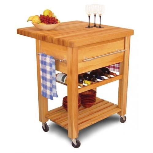 Picture of Baby Grand Workcenter W/Drop Leaf/Wine Rack