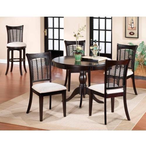 Hillsdale Bayberry 5-piece Round Dining Set - Dark Cherry - 4783dtbcrnd