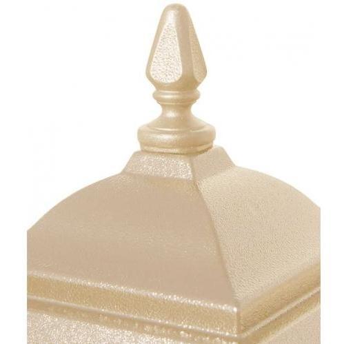 Regency Decorative Top W/ Flame Finial - Sandstone