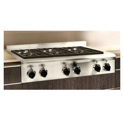 American Range ARSCT 30 Slide In 36 Inch Natural Gas Cooktop   Stainless