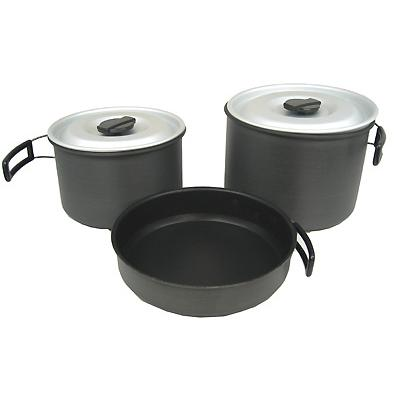 Chinook Ridge Hard Anodized Cookset, X-large