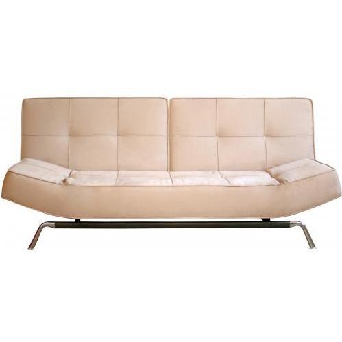 Roane Split-back Convertible Sofa In Beige