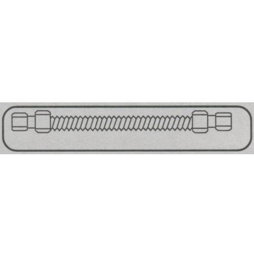 Fire Magic 1/2x24 Inch Stainless Flex Connector